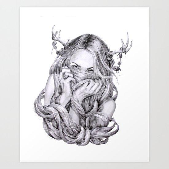 Begonia's Sister Art Print