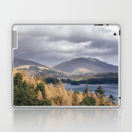 View over Derwent Water towards Blencathra. Cumbria, UK. Laptop & iPad Skin