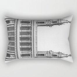 Saint-Sulpice, Grand Portail Rectangular Pillow