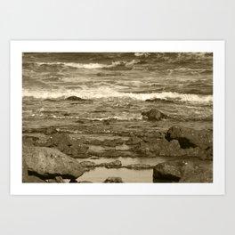 Caleta Coast Fuerteventura Tint Art Print