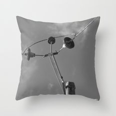 commune with the sky... Throw Pillow