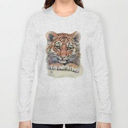 Cute Tiger Cub 903 Long Sleeve T-shirt
