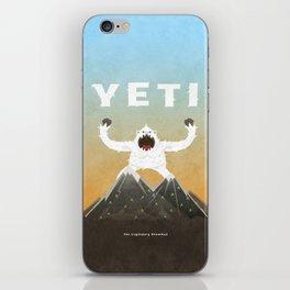 Yeti iPhone Skin