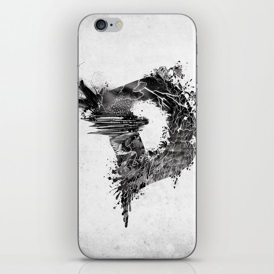[ D ]ISASTER iPhone & iPod Skin