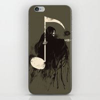 death note iPhone & iPod Skins featuring Death Note {Light Brown} by Tobe Fonseca