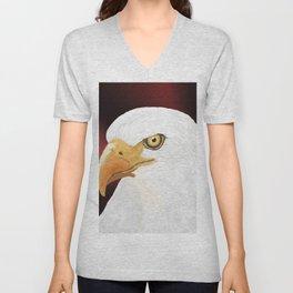 Eagle head Unisex V-Neck