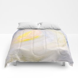 Shine Abstract Painting Comforters