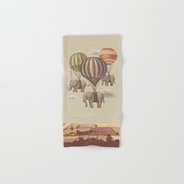 Flight of the Elephants  Hand & Bath Towel