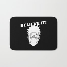 Believe It! - Naruto Bath Mat