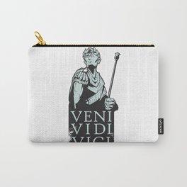 Veni Vidi Vici Julius Caesar Roman Carry-All Pouch