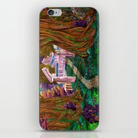 warcraft iPhone & iPod Skins featuring Welcome in Darnassus by Studinano by Shou'