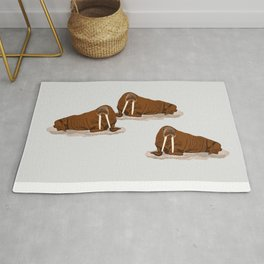 Pacific Walrus Rug