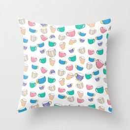 A Cup for Me a Cup for You Throw Pillow