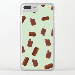 Chocolate Ice Clear iPhone Case