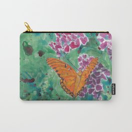Monarch Butterfly In Field Carry-All Pouch