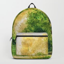 Green all over Backpack