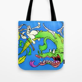 The Luck Dragon Tote Bag