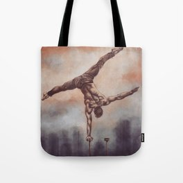 Upside down Tote Bag