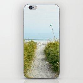 Beach Path to the Sea iPhone Skin
