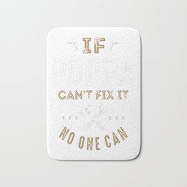 Poppa-Can-Fix-It! Bath Mat