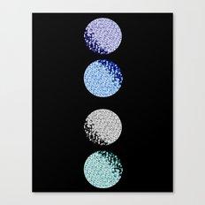 Many Many Moons Canvas Print