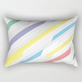 Tech geometric colorful lines background #society6 #decor #buyart #artprint Rectangular Pillow