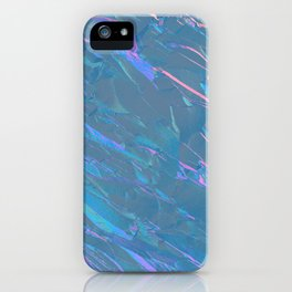 Holographic Artwork No 7 (Crystal) iPhone Case