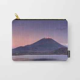 II - Last light on Mount Fuji and Lake Motosu, Japan Carry-All Pouch