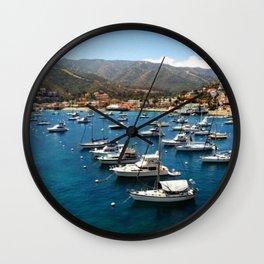 Hola Catalina Wall Clock