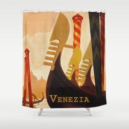 Venezia Italia ~ Venice Italy Travel Shower Curtain