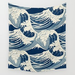 Sea Wave Wall Tapestry