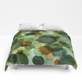FAIRY IN THE GREENS Comforters