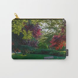 Relaxing in a Park in Madrid Carry-All Pouch