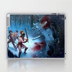 Den of the Ogrelion Laptop & iPad Skin