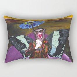 A Bit Of A Loner Rectangular Pillow