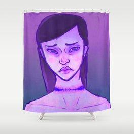 STITCHES Shower Curtain