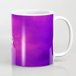 Purple clouds crown symbol Coffee Mug