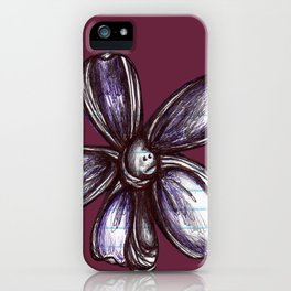"""""""Bound up by Bandages"""" Flowerkid iPhone Case"""
