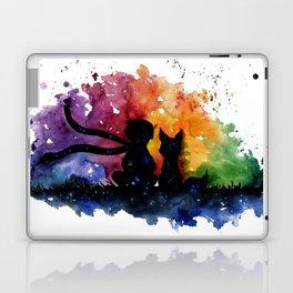El Principito The Little Prince Fox Book Watercolor Art Laptop & iPad Skin