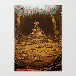 Undertale AU Killertrail Canvas Print