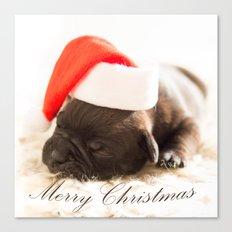 Cute Merry Christmas Canvas Print