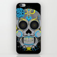 Diabolic Sugar Skull iPhone & iPod Skin