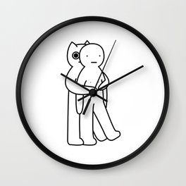 Extra hug Wall Clock