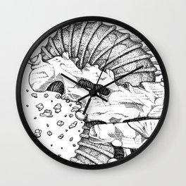 Alien 1-qwerty Wall Clock