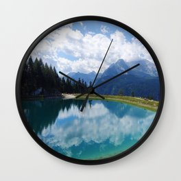 Berchtesgaden National Park and Lake Konigsee Wall Clock