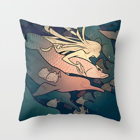 Encantado Throw Pillow