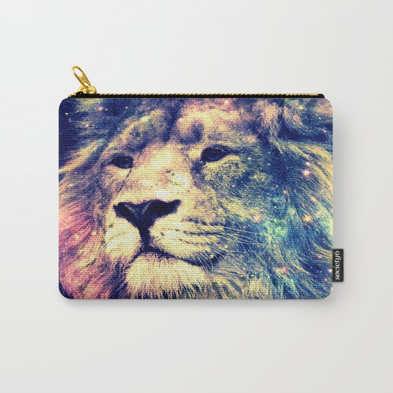 Galaxy Lion : Deep Pastels Carry-All Pouch