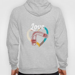 Love Boomerang Sports Athlete Competitive Sports Athletic Gifts Hoody