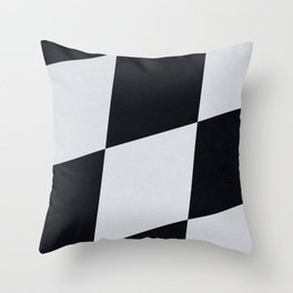 Winner / Race Finished Throw Pillow