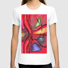 Abstract Rubrum T-shirt